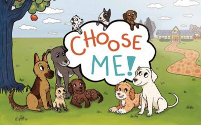 A New Children's Book About Rescue Dogs